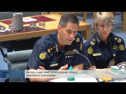Border Force drugs Legal & Constitutional Affairs Part 2 20151019