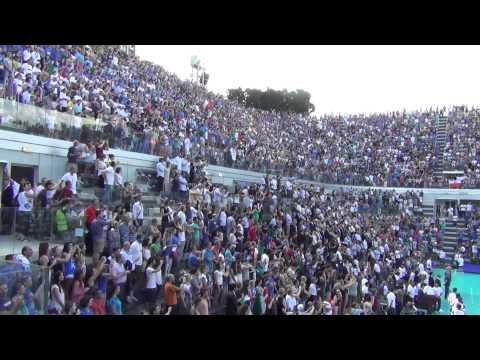 #FIVBWorldLeague - Inno da brividi al Foro Italico