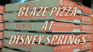 Ordering a custom pie at Blaze Pizza