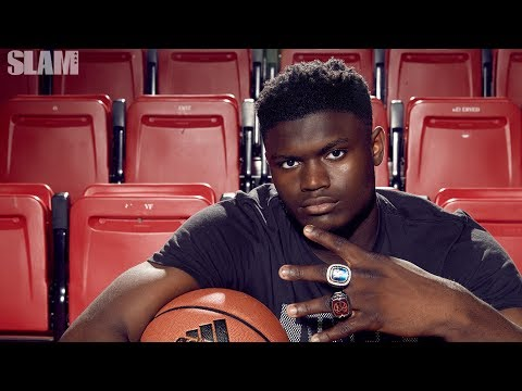 Zion Williamson Interview: Behind the Scenes of SLAM 210 Cover Shoot