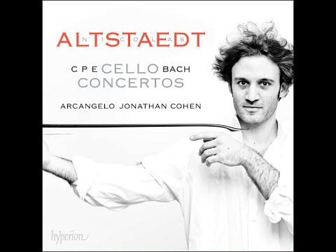 C.P.E. Bach—Cello Concertos—Nicolas Altstaedt (cello), Arcangelo, Jonathan Cohen