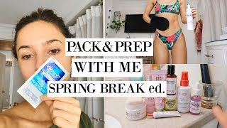PACK & PREP WITH ME | Self Tanning + Teeth Whitening + Travel Essentials