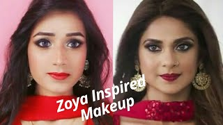 Zoya from Bepanah || Inspired Makeup Look