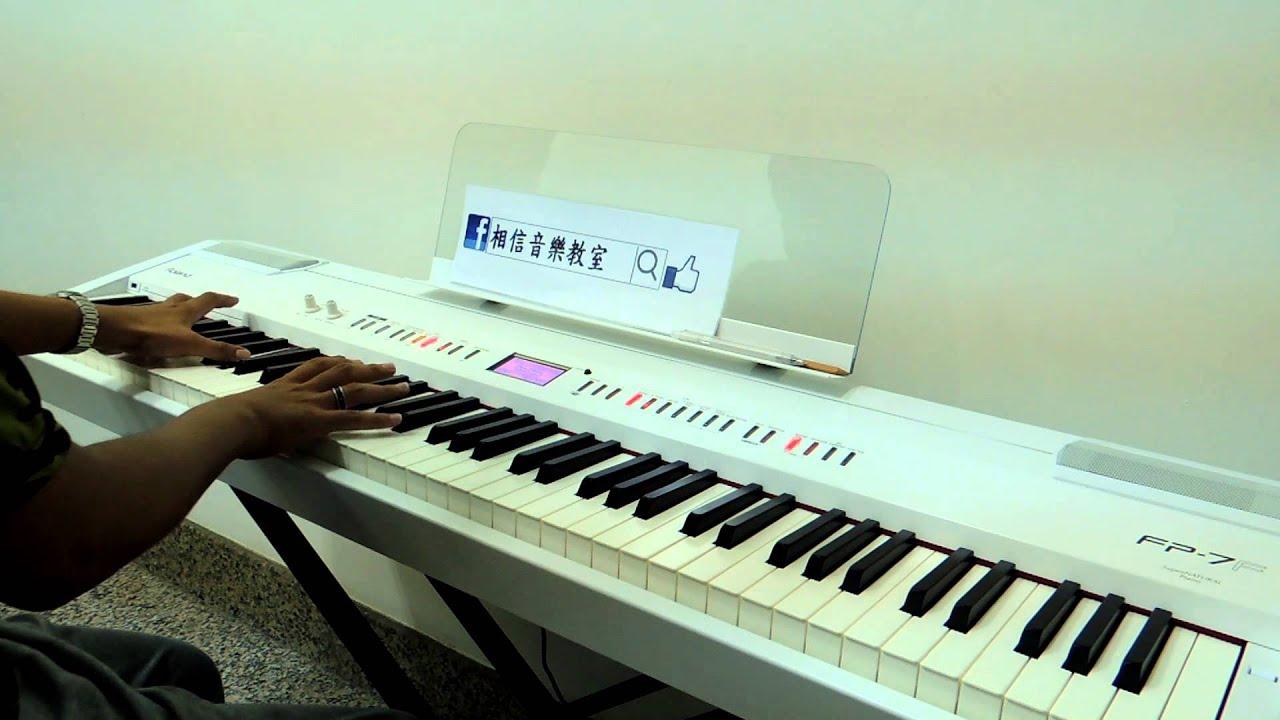 貝多芬-月光奏鳴曲 第一樂章 孟儒老師演奏版 - YouTube