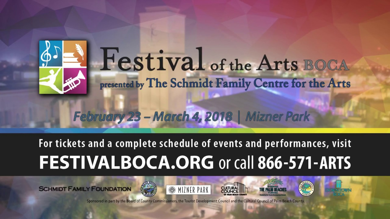 Festival Of The Arts Boca The Palm Beaches Florida
