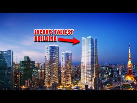 Tokyo Futuristic Skyscrapers by 2030
