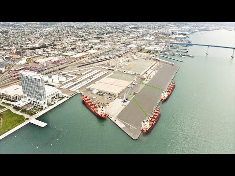 (Español) Port of San Diego Tenth Ave. Marine Terminal Redevelopment