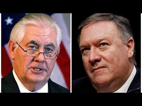 Trump annonce le départ de son chef de la diplomatie Rex Tillerson