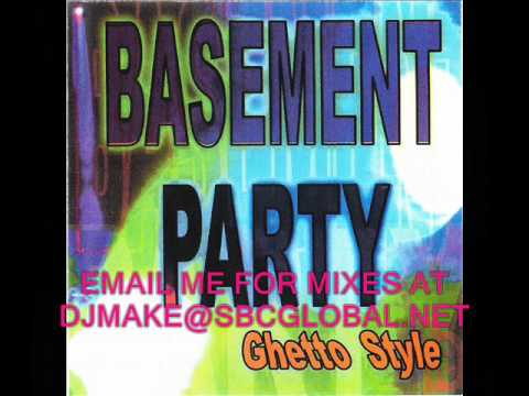 Basement Party - Dj Gordo 90's Chicago Ghetto House Music Old School Mix B96