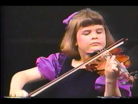 Unforgettable video: Jessica Linnebach onstage at the NAC as a 7 year old