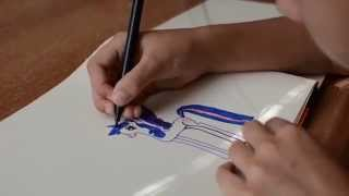 Как рисовать пони (пегаса) дружба это чудо(Как нарисовать пони картинки. Девочка 7 лет рисует пони., 2014-08-18T10:54:06.000Z)