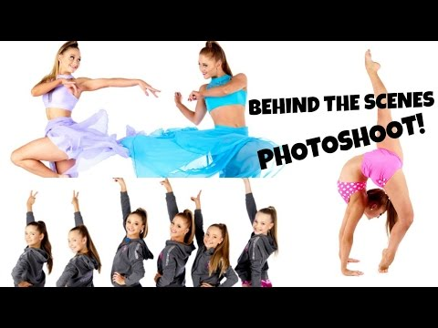 Thumbnail: Behind The Scenes: Melbourne Dance Wear Photoshoot! | The Rybka Twins