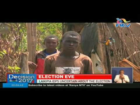 Laikipia IDPs uncertain about the election