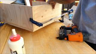 Tablesaw Station (part 2) Dust Collection And Extending Top