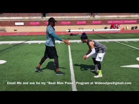 Receiver Training: How to Run a Post Corner vs Man Press