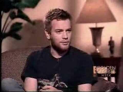 Funny Ewan interview for E! Revealed.