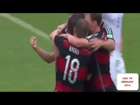 USA VS GERMANY 2014 0 1   ALL GOALS   AMERIKA VS JERMAN 2014   WORLDCUP FOOTBALL 2014