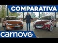 Ford Fiesta vs Volkswagen Polo - Segmento B / Comparativa / Review / Test en español | Carnovo
