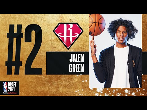 Jalen Green Goes #2 In The 2021 #NBADraft!