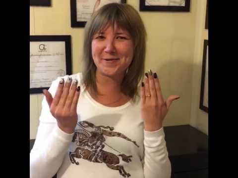 Наращивание ногтей в салоне красоты MarLen