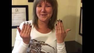 видео Наращивание ногтей в салоне красоты