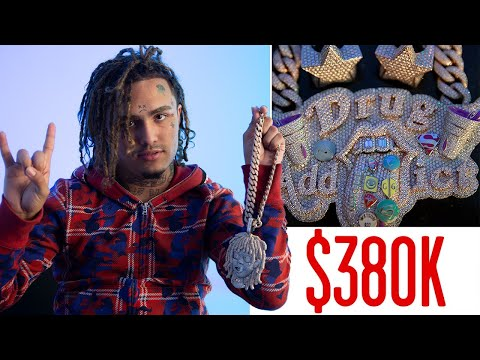 Lil Pump Shows Off His Insane Jewelry Collection | On the Ro