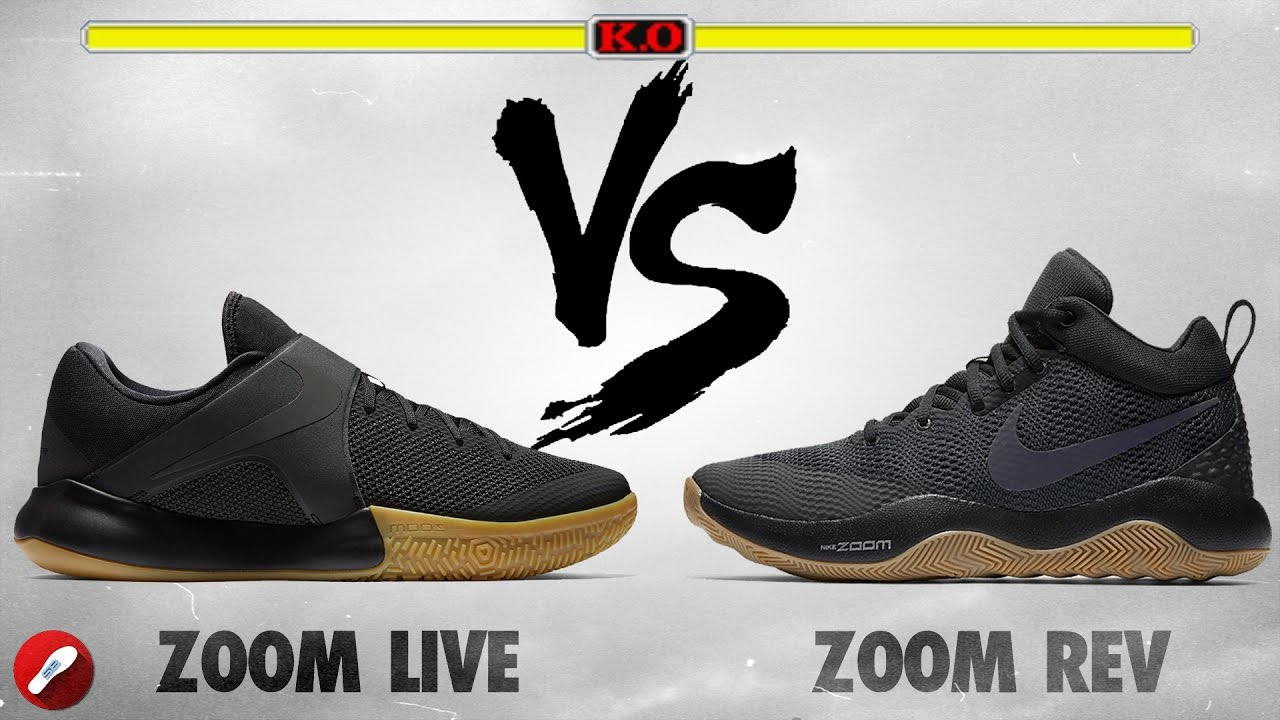 aad4ad8af2e0 Nike Zoom Live 2017 vs Zoom Rev 2017! - YouTube