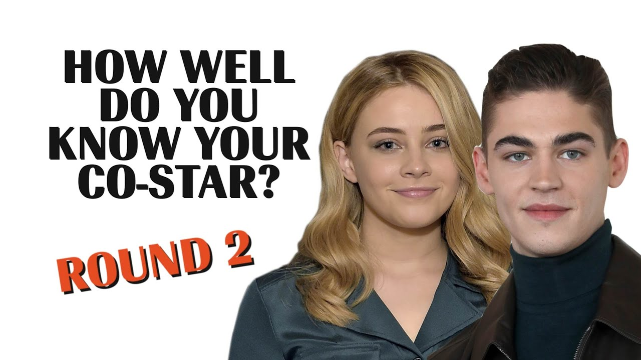 Josephine Langford & Hero Fiennes Tiffin ROUND 2 | How Well Do You Know Your Co-Star? | Marie Claire