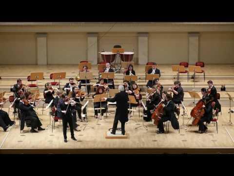 Sven Stucke plays Mozart concerto No.5, mvt III