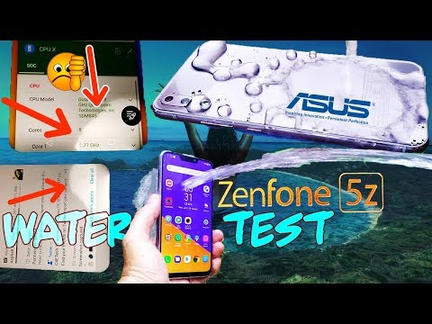 Zenfone 5Z Water Test💦 - Flagship waterproofing worse than budget devices! Really Asus?