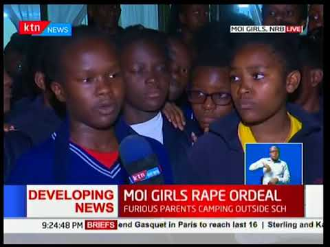Developing...Student raped at Moi Girls, furious parents camping outside school