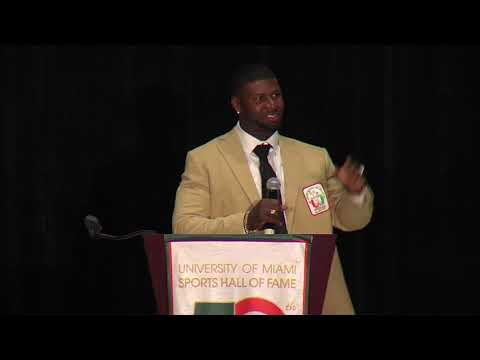 Devin Hester acceptance speech - 2018 UM Sports Hall of Fame banquet