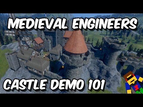 Quick Look @ Medieval Engineers | Castle Demolition 101