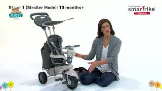 Tricikli Voyage Touch Steering 4in1 smarTrike 2 tá