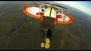 "Xtreme PPG flying around ""Lac de la foret d"