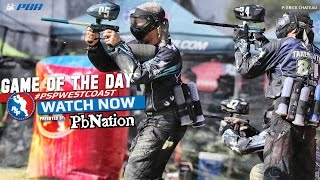 2014 PSP West Coast Paintball Game of the Day - Los Angeles Ironmen vs. San Diego Dynasty