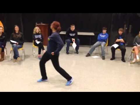 Dance audition 2015 Dallas Christian School