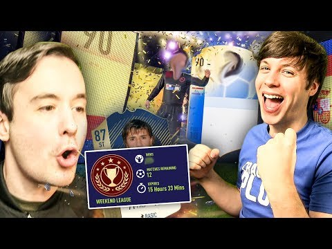 MAT PACKS HIS FIRST TOTGS PLAYER - FIFA 18 ULTIMATE TEAM PACK OPENING / FUT CHAMPIONS