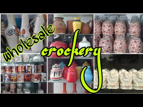 ✓सबसे बड़ी Crockery Market  Khurja //Dadoos factory Manufacture Cup/Plate Bhawana Sunil