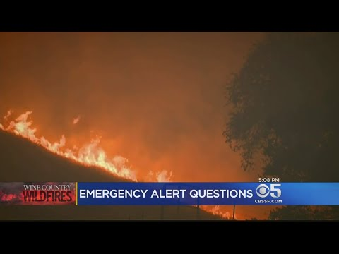 Sonoma County Officials Defend Decision Not To Send Emergency Text Alert For Tubbs Fire