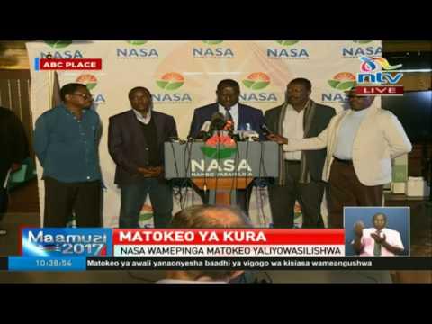 IEBC server hacked, algorithm manipulated and votes given to Uhuru Kenyatta - Raila Odinga