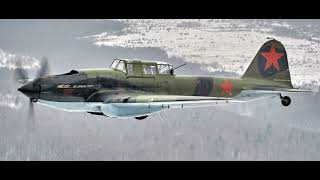 The 'Pilot' movie shooting   IL 2 flight   rear view