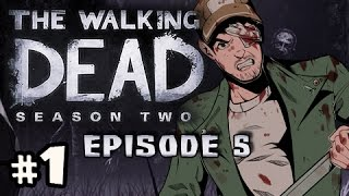 SAVE THE BABY - The Walking Dead Season 2 Episode 5 No Going Back Walkthrough Ep.1