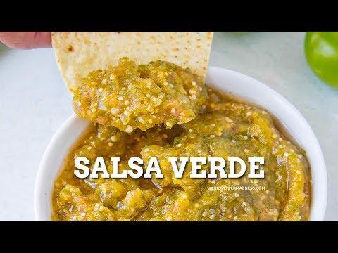 Salsa Verde Recipe - Chili Pepper Madness