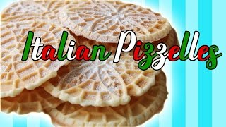 Italian Pizzelles - Let's Cook