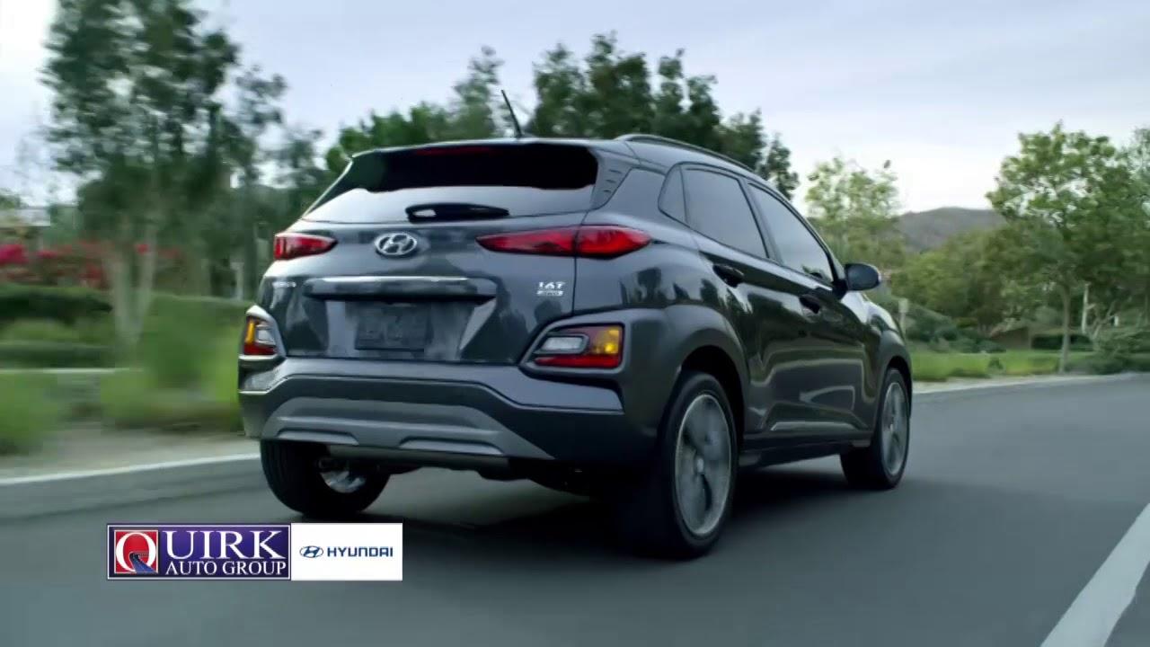 Quirk Hyundai Kona - YouTube