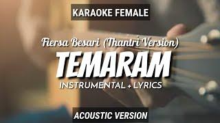 Temaram - Thantri (Cipt Fiersa Besari) Instrumen+Lyrics (Vocal Female)