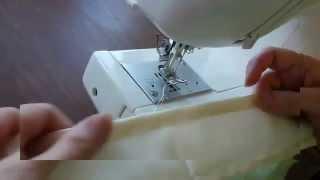Комплект постельного белья. Машинные швы для белья -запошивочный, подрубочный(На сайте