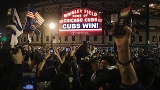 """The Cubs Win the World Series. Everyone Goes Nuts."""