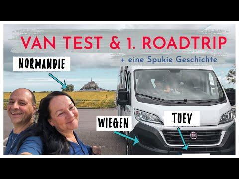 VANTEST & 1.Roadtrip + eine SPUKIE Geschichte (was hat FUNKTIONIERT und was NICHT?)
